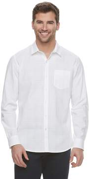 Marc Anthony Men's Slim-Fit Dobby Woven Button-Down Shirt