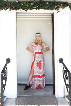 Flynn Skye Bardot Floral Maxi
