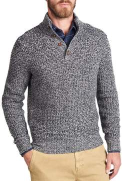 Faherty Cashmere 1/4-Button Sweater - Men's