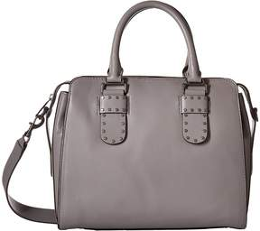 Rebecca Minkoff Midnighter Work Satchel Tote Tote Handbags - GREY - STYLE