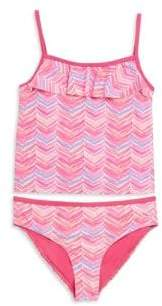 Vineyard Vines Toddler's, Little Girl's& Girl's Two-Piece Whale Print Tankini Set