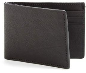 Bosca Men's Leather Wallet - Black
