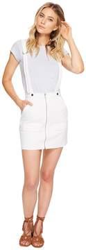 For Love & Lemons Monika Overalls Mini Skirt Women's Skirt