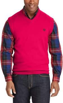 Chaps Big & Tall Classic-Fit Sweater Vest