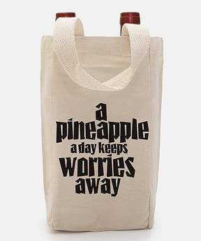 DAY Birger et Mikkelsen 'A Pineapple a Day' Canvas Wine Tote