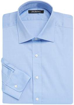Saks Fifth Avenue BLACK Men's Solid Twill Cotton Dress Shirt