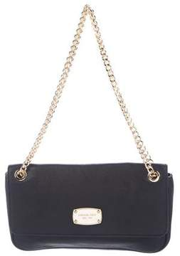 MICHAEL Michael Kors Leather Flap Chain-Link Shoulder Bag