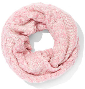 New York & Co. Marled Cable-Knit Infinity Scarf