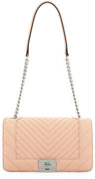 Karl Lagerfeld Paris Lara Quilted Leather Box Shoulder Bag