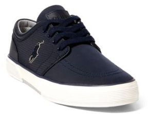 Ralph Lauren Faxon Perforated Sneaker Dark Navy 10