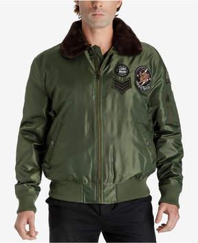 Lucky Brand Men's Patch Flight Jacket