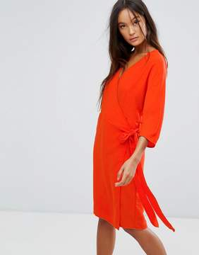 B.young Wrap Front Dress