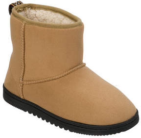 Dearfoams Women's Microsuede Boot Slipper with Memory Foam