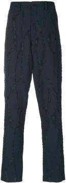 Issey Miyake fitted tailored trousers