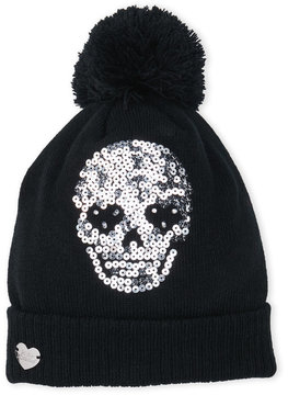 Betsey Johnson Skull Glow Hat
