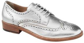 Banana Republic Metallic Leather Oxford