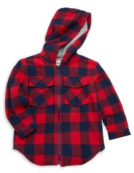 Hatley Little Boy's & Boy's Plaid Lumber Flannel Cotton Jacket
