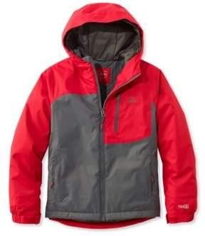 L.L. Bean Boys' Wildcat Snow Jacket, Colorblock