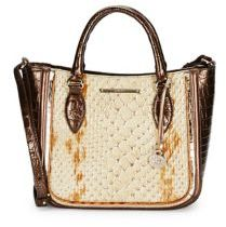 Brahmin Lena Leather Satchel Bag