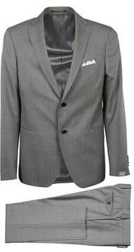 Cantarelli Men's 210322582491031 Grey Wool Suit.