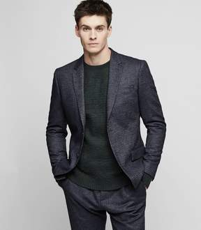 Reiss GREAVES B Checked wool-blend blazer