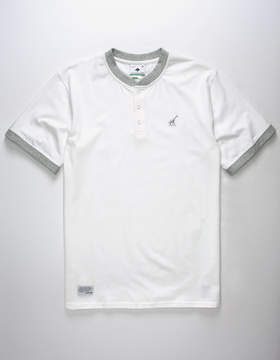 Lrg Above The Crowds Mens Henley