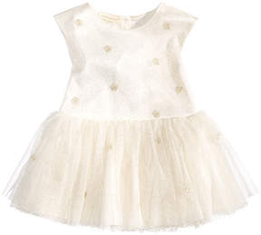 First Impressions Metallic Dots Dress, Baby Girls (0-24 months), Created for Macy's