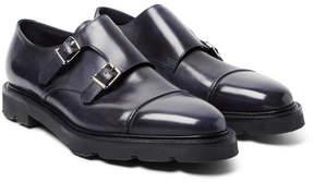 John Lobb William Ii Leather Monk-Strap Shoes