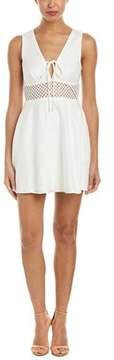 Dolce Vita Talia Linen-blend A-line Dress.