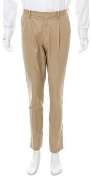 TOMORROWLAND Flat Front Chino Pants