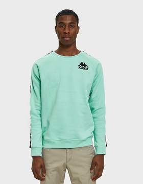 Kappa Authentic Hassan Crewneck in Azure Turquoise