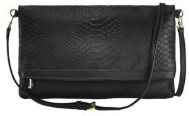 GiGi New York Carly Python-Embossed Convertible Clutch