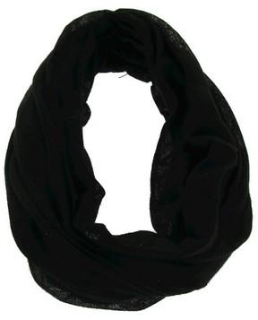 Charlotte Women's Solid Jersey Headwrap Black