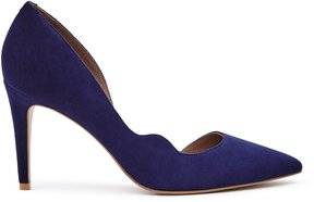 Reiss Bardot Suede Point-Toe Shoes