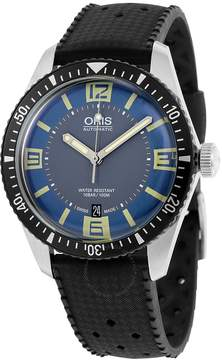 Oris Divers Sixty-Five Blue and Grey Dial Men's Watch 733-7707-4065RS