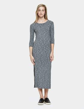 Which We Want Ribbed Midi Dress