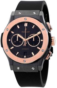 Hublot Classic Fusion Mat Black Carbon Fiber Dial Automatic Men's Watch