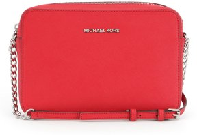 MICHAEL Michael Kors Jet Set Travel Large Chain Strap Cross-Body Bag - BRIGHT RED - STYLE