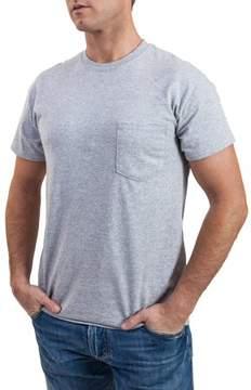 Gildan Big Men's Black and Grey Pocket Crew T-Shirt, 2-Pack, 2XL