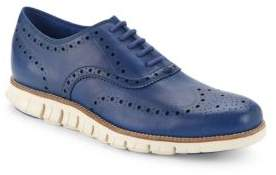 Cole Haan Wingtip-Toe Lace-Up Sneakers