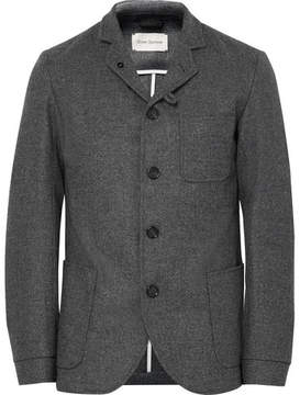 Oliver Spencer Solms Slim-Fit Unstructured Mélange Lambswool Blazer