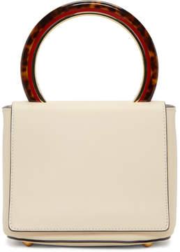 Marni White Pannier Shoulder Bag