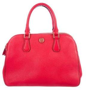 Tory Burch Robinson Double-Zip Satchel - RED - STYLE