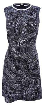 Tommy Hilfiger Women's Sleeveless Printed Texture Dress
