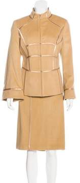 Ellen Tracy Wool Skirt Suit