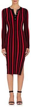 Altuzarra Women's Striped Rib-Knit Dress