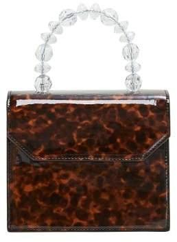 MANGO Tortoiseshell beads bag
