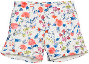 Joules Floral Cotton Beach Shorts, Size 3-10