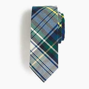 J.Crew Boys' cotton tie in tartan
