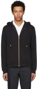 Kenzo Black Logo Zip Hoodie